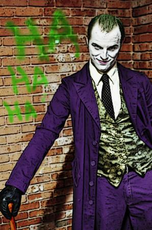 The Joker from Batman worn by TheDapperMan