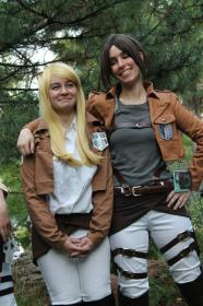 Ymir from Attack on Titan worn by Siri