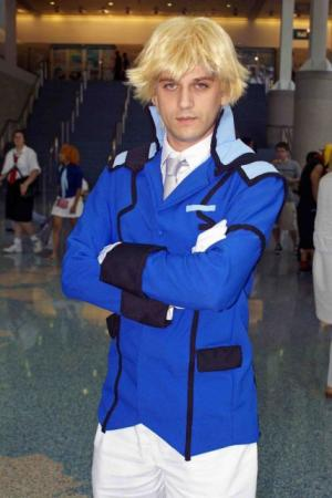 Graham Aker from Mobile Suit Gundam 00