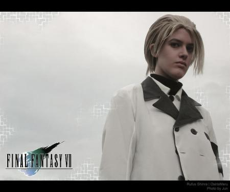 Rufus Shinra from Final Fantasy VII