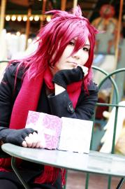 Ren Suzugamori from Cardfight!! Vanguard worn by tired person