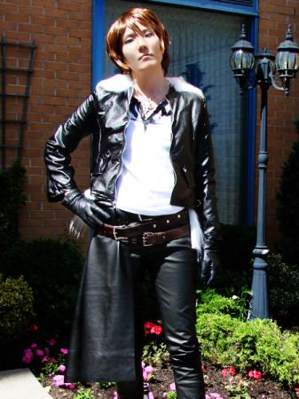 Squall Leonheart from Final Fantasy Dissidia worn by challenger 1