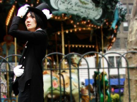 Sebastian Michaelis from Black Butler worn by challenger 1