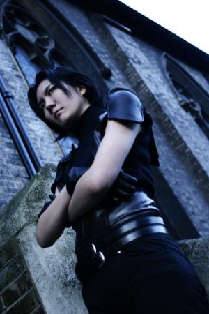 Angeal from Final Fantasy VII: Crisis Core worn by challenger 1