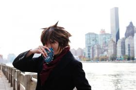 Toshiki Kai from Cardfight!! Vanguard worn by tired person