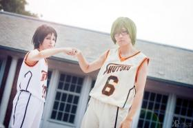 Shintarou Midorima from Kuroko's Basketball worn by tired person