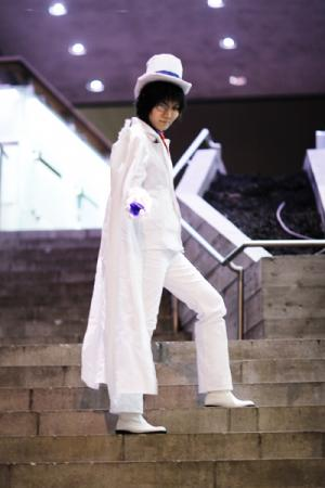 Kaitou Kid from Detective Conan worn by tired person