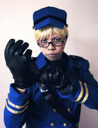 Sweden / Berwald Oxenstierna from Axis Powers Hetalia worn by sonteen12