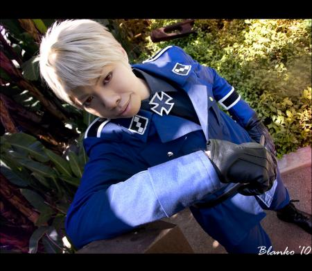 Prussia / Gilbert Weillschmidt from Axis Powers Hetalia worn by sonteen12