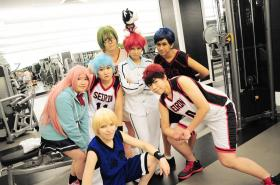 Taiga Kagami from Kuroko's Basketball worn by red-cluster