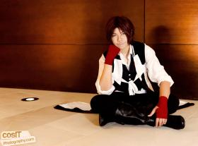 Sanosuke Harada from Hakuouki Shinsengumi Kitan worn by red-cluster