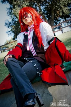 Grell Sutcliff from Black Butler (Worn by kio)