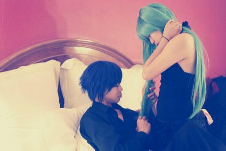 Hatsune Miku from Vocaloid 2 (Worn by kio)