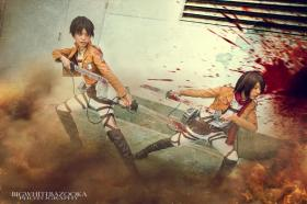 Mikasa Ackerman from Attack on Titan worn by Akusesu