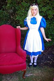 Alice from Alice in Wonderland worn by anime_wench