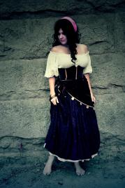 Esmeralda from Hunchback of Notre Dame worn by anime_wench