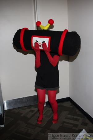 Kuro from Katamari Damacy worn by AlbinoPlant