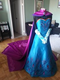 Elsa from Frozen worn by Kerorii