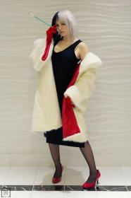 Cruella De Vil from 101 Dalmations worn by Eveille