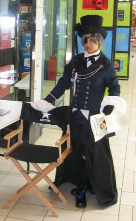 Ciel Phantomhive from Black Butler worn by Aduial