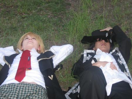 Gilbert Nightray (Raven) from Pandora Hearts worn by Aduial