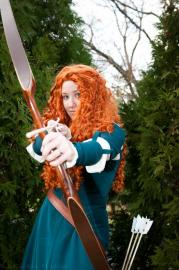 Merida from Brave worn by Katesorganizedchaos