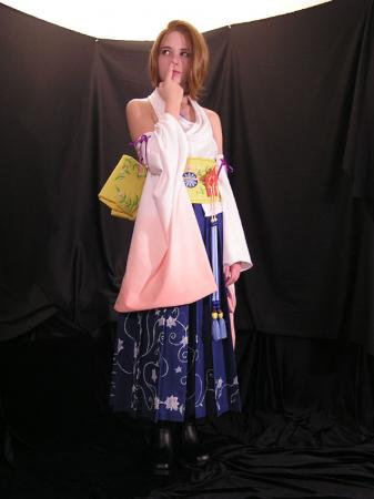 Yuna from Final Fantasy X worn by Erika Door