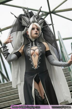 Dark Elven Gatekeeper from Lineage II worn by Erika Door