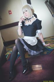 Saber Maid Alter from Carnival Phantasm worn by Sirian