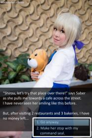 Saber from Fate/Stay Night worn by Sirian