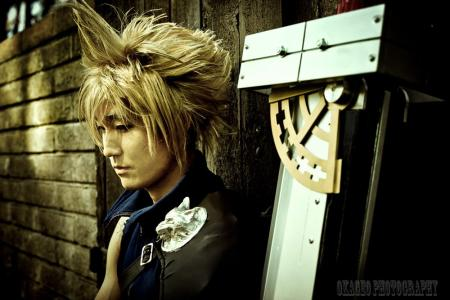 Cloud Strife from Final Fantasy VII: Advent Children worn by PhDPepper