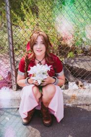 Aeris / Aerith Gainsborough from Final Fantasy VII by VintageAerith
