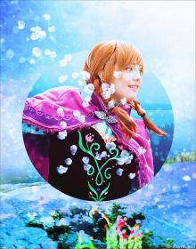 Anna from Frozen worn by VintageAerith