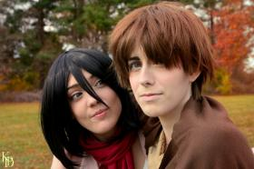 Mikasa Ackerman from Attack on Titan  by VintageAerith