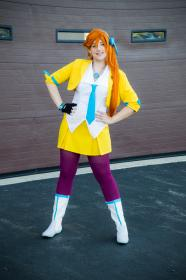 Athena Cykes from Phoenix Wright: Ace Attorney - Dual Destinies  by VintageAerith