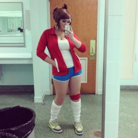 Aoi Asahina from Dangan Ronpa worn by Bishoujo Senshi