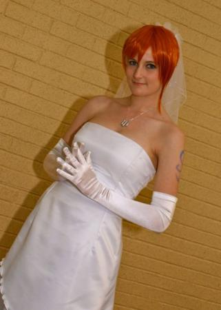 Nami from One Piece worn by Hato