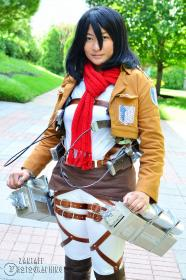 Mikasa Ackerman from Attack on Titan by Havenaims