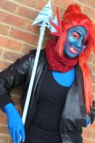 Undyne from Undertale worn by Havenaims