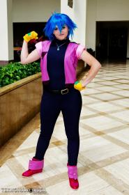 Allenby Beardsley from Mobile Fighter G Gundam worn by Pink Pariah