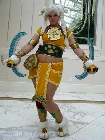 Talim from Soul Calibur 4 worn by Dust Bunny