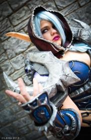 Death Knight from World of Warcraft worn by Dust Bunny