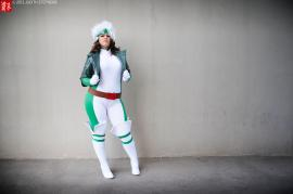 Rogue from Marvel vs Capcom 3