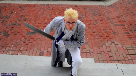 Paladin Alexander Anderson from Hellsing