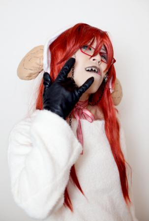 Grell Sutcliff from Black Butler (Worn by きゅきゅ-kyukyu-)