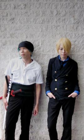 Sanji from One Piece worn by きゅきゅ-kyukyu-
