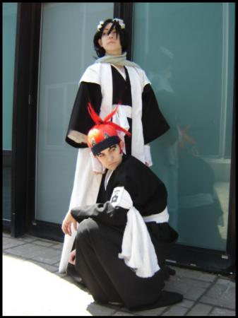 Renji Abarai from Bleach worn by Siege