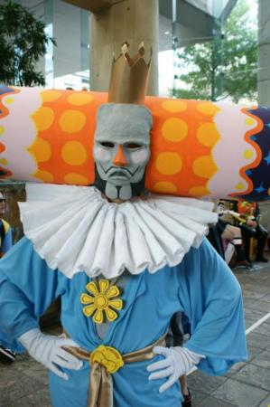 King of the Cosmos from Katamari Damacy worn by Siege
