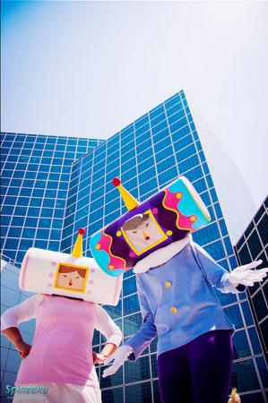 King of the Cosmos from Katamari Damacy