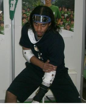 Sasuke Uchiha from Naruto worn by Black Gokou